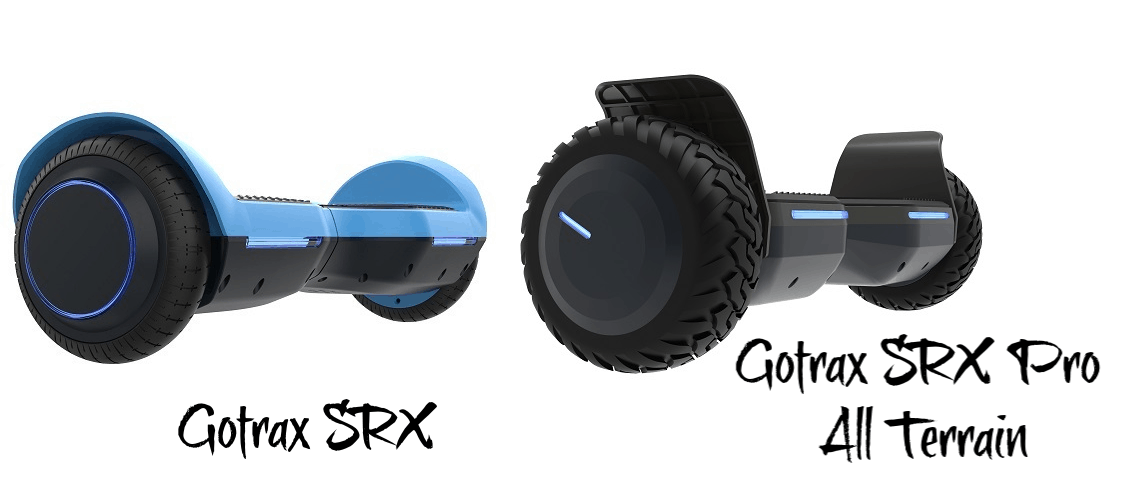 blue and black hoverboards