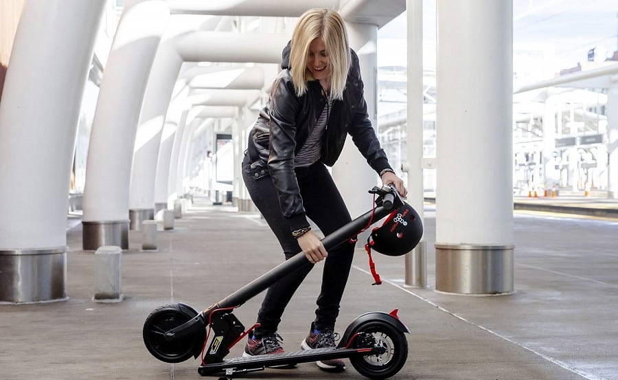 portable foldable scooter