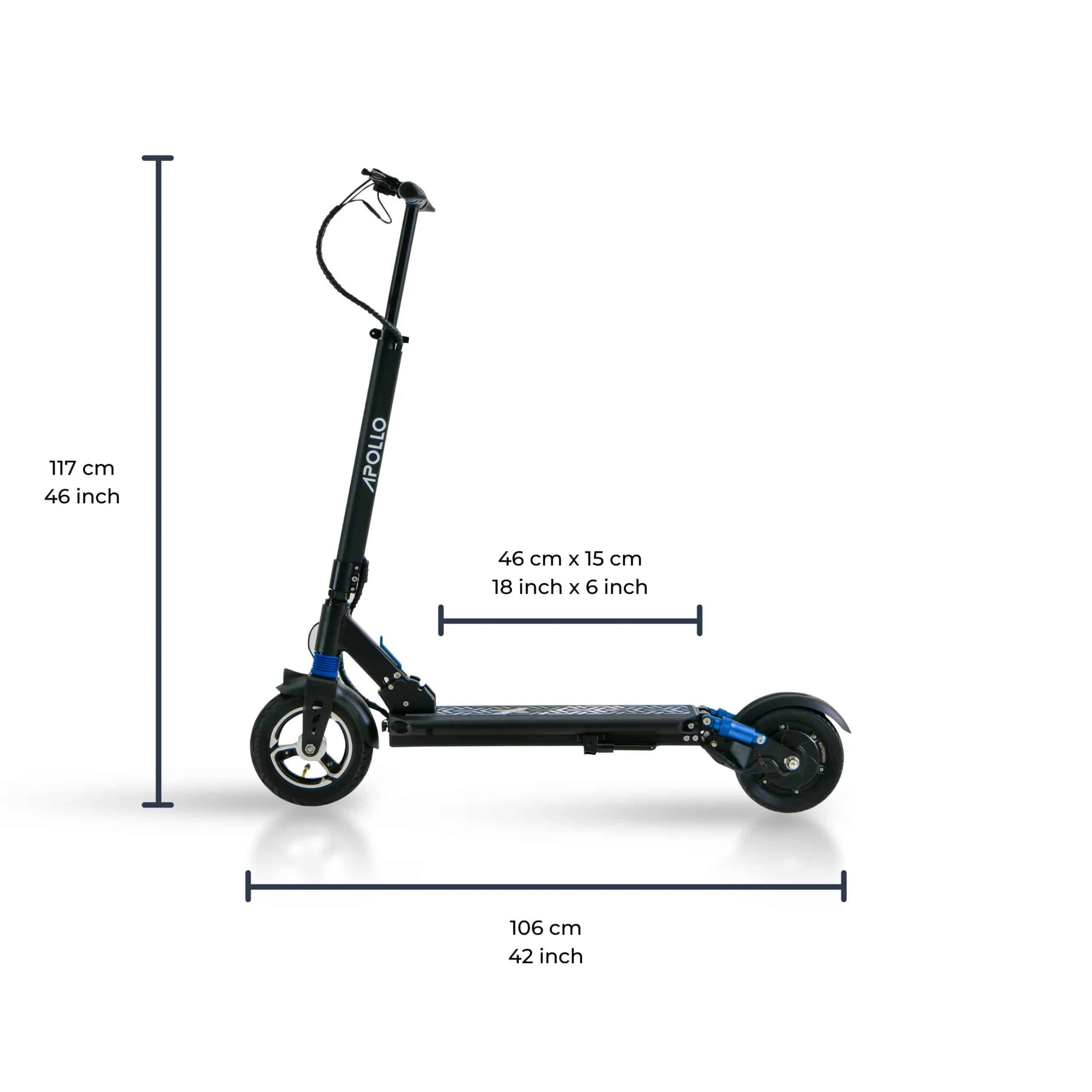 Apollo Light Scooter Specifications