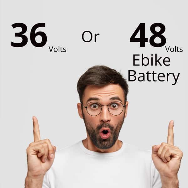 What is the Difference Between 36 and 48 Volt Ebike