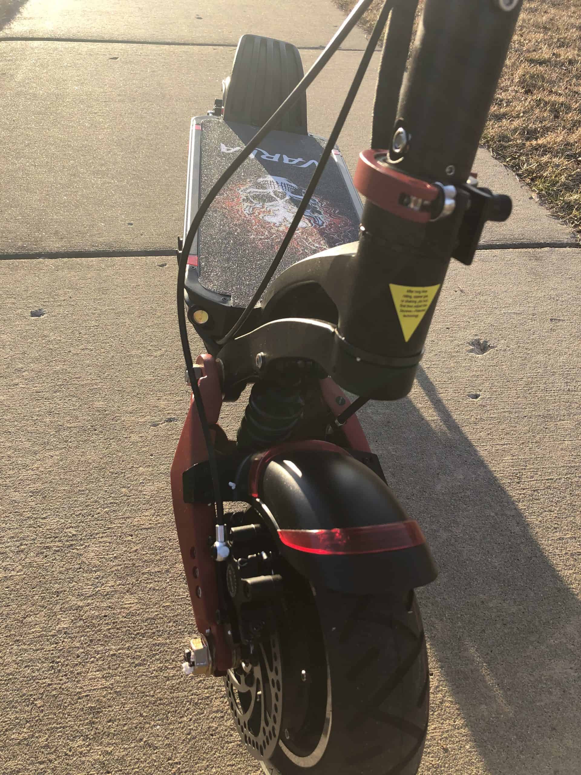 Varla Eagle One Electric Scooter Review 4