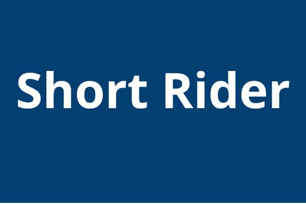 """For Riders Shorter than 5'4"""" (163cm)"""