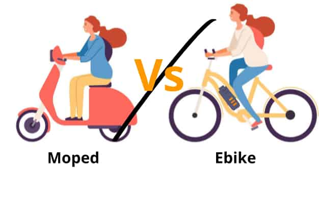 Electric Bike VS Moped – Which Option is Right For You? 3
